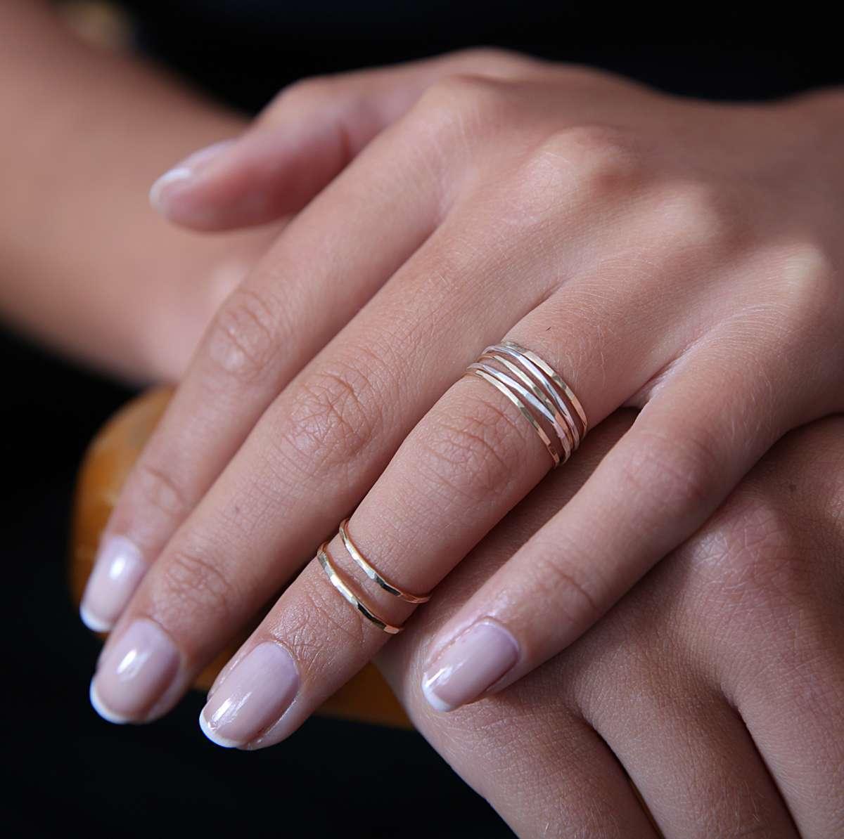 Midi Rings (Set of 2) - Sarah Hickey Jewellery