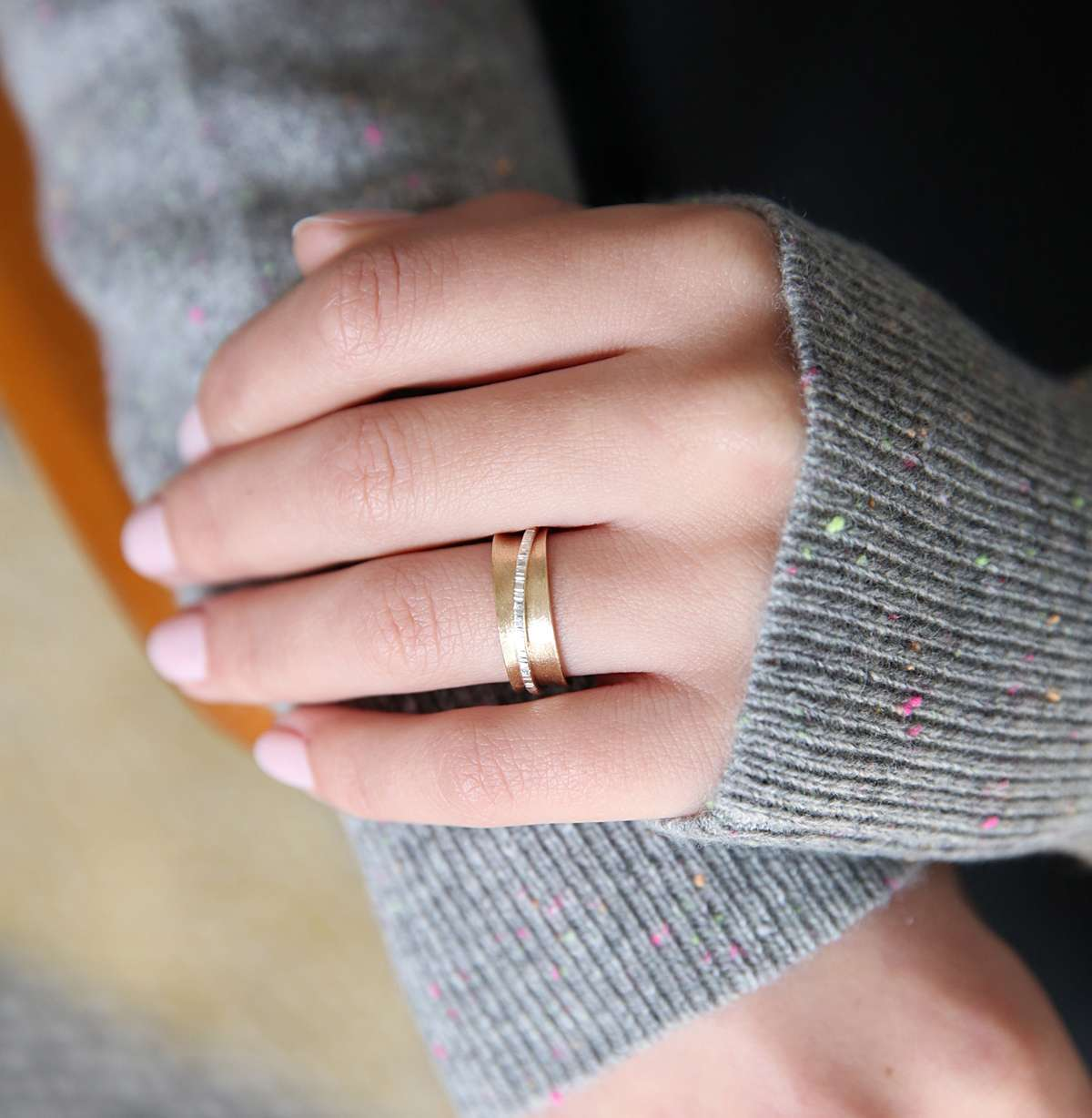 9ct Gold Spinner Ring - Sarah Hickey Jewellery