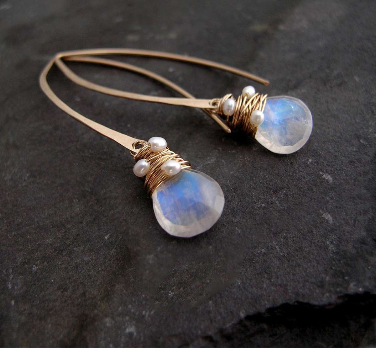 Moonstone, a life long love affair... Sarah Hickey Jewellery